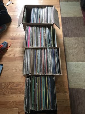 4 boxes of Vinyl Record LP's - all must go this weekend