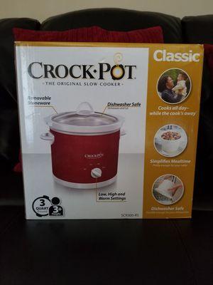 NEW SEALED BOX - THREE QUART Slow Cooker by Crockpot