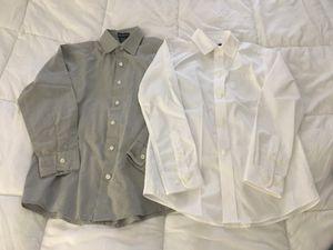 Boys dress shirts - size 8-10