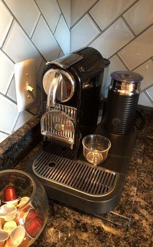 Nespresso machine coffee