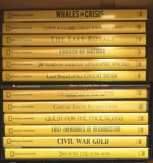 DVD set National Geographic