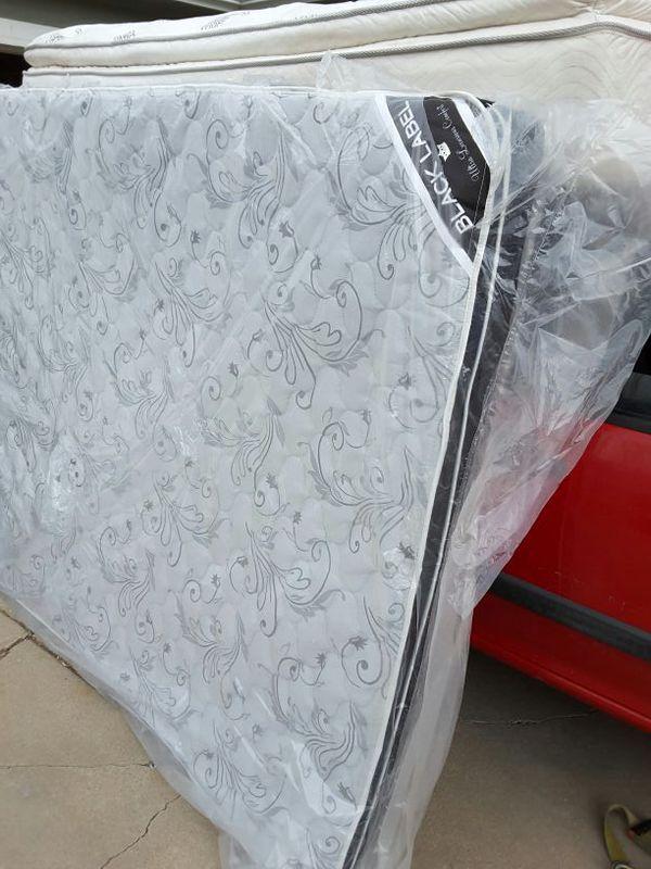 rv camper mattress brand new king 7080 eurotop evergreen black label michiana