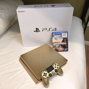 New all gold PS4