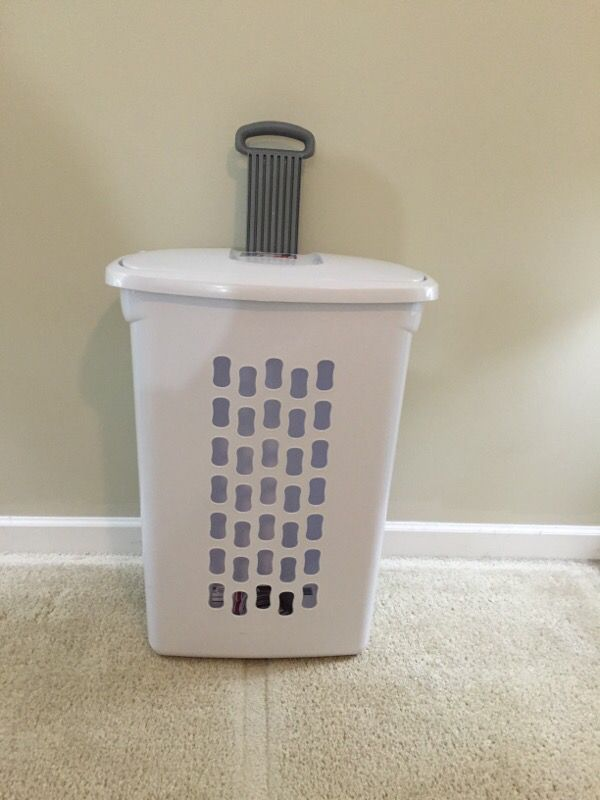 Storage Laundry Basket With Wheels 2 Nos Furniture In Arlington Heights Il Offerup