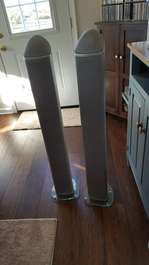 Floor speakers