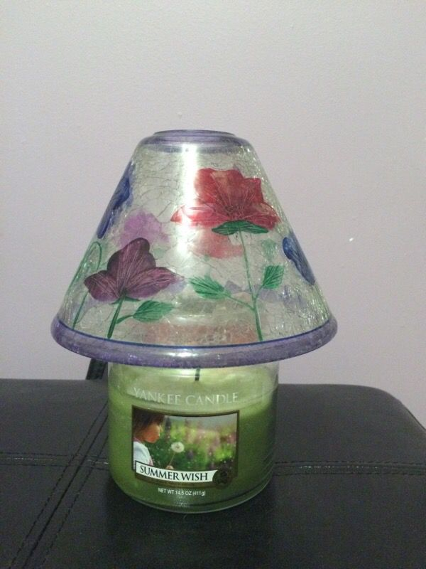 Yankee candle lamp shade home garden in medway ma offerup yankee candle lamp shade mozeypictures Gallery