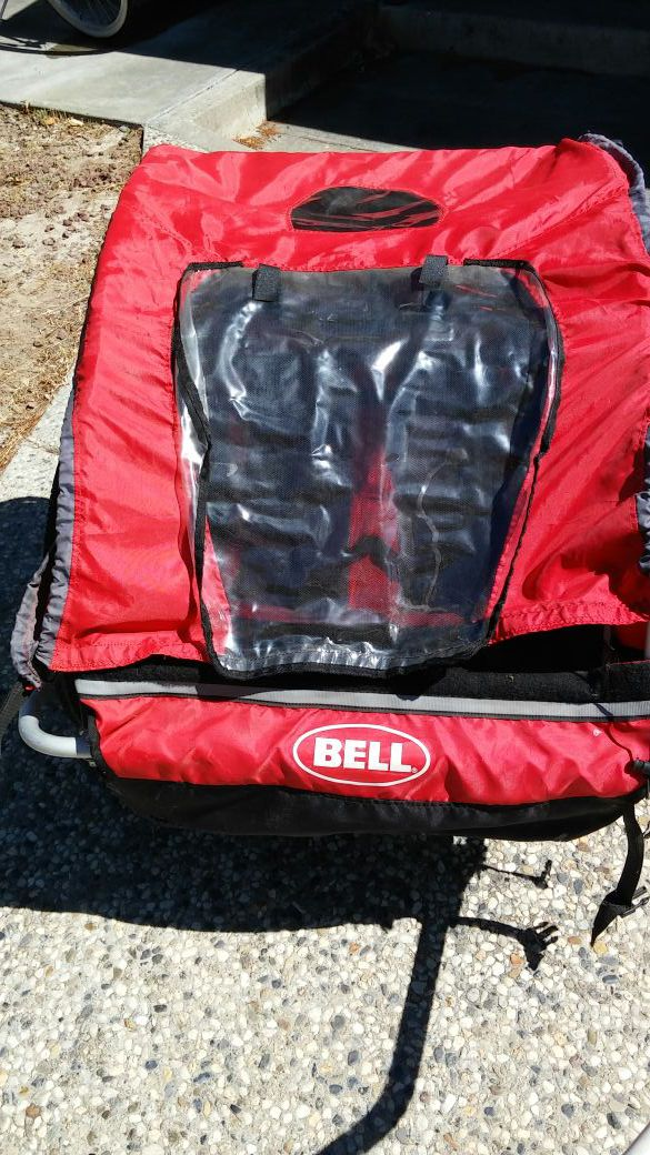 Bell Double Seat Bike Trailer Bicycles In San Jose Ca Offerup