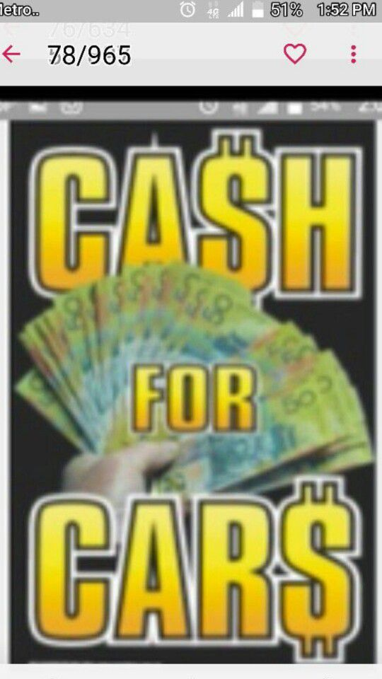 Cash for your unwanted car or truck (Auto Parts) in Houston, TX