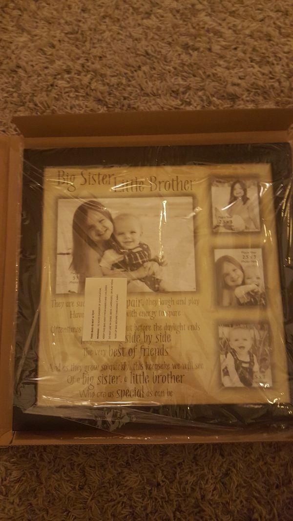 Fine Big Sister Little Sister Picture Frame Gift - Ideas de Marcos ...