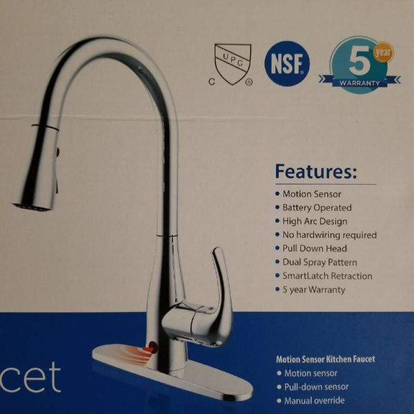 BioBidet Flow Motion Sensor Kitchen Faucet (Household) in Hialeah, FL