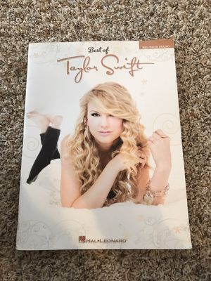 Taylor Swift songs for piano