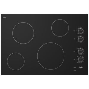 Whirlpool Smooth surface electric cooktop black