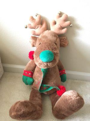 Christmas reindeer toy