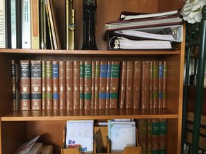 Britainnica Great Books series. 52 volumes exclent condition. Collectors items.