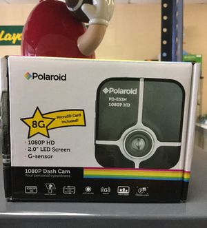 Polaroid Dash Cam in Box