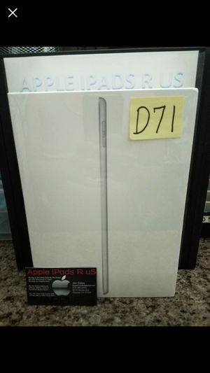 D71 - iPad 2017 Model 32GB New Sealed