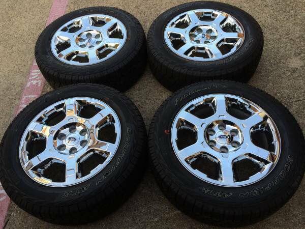 "Offer Up Dallas Tx >> Chrome 20"" Ford F150 RIMS / Pirelli TIRES WHEELS Factory Expedition OE ## 20"" rines llanta 2012 ..."