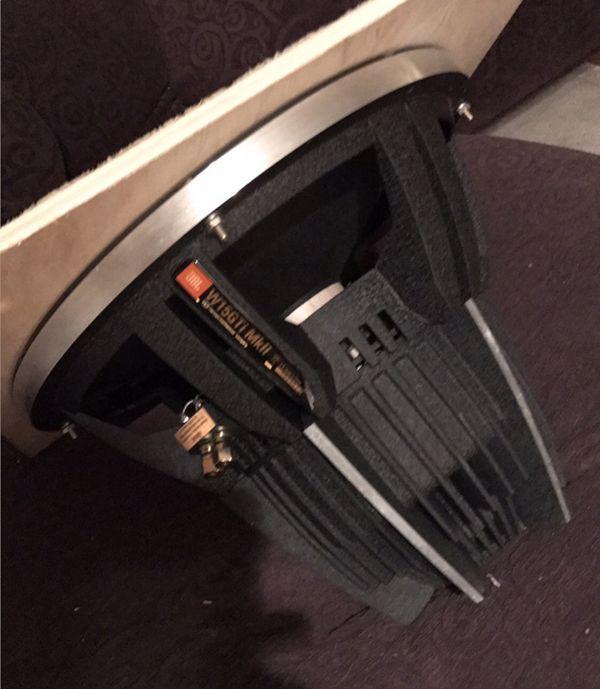Jbl gti 15 inch sub subwoofer 15 audio equipment in marysville jbl gti 15 inch sub subwoofer 15 sciox Gallery