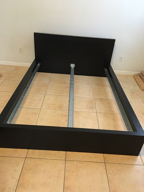 ikea queen bed frame with flatted bed base - Ikea Queen Bed Frames