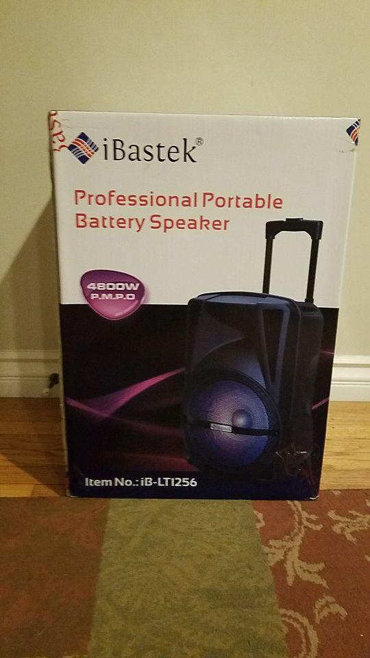 iBastek iB-LT1256 Portable Bluetooth Speaker (Electronics ...