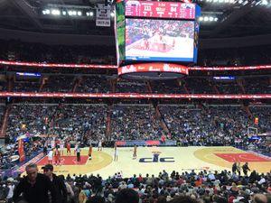 Washington Wizards Vs. Utah Jazz 01/10/18 - 1 Ticket