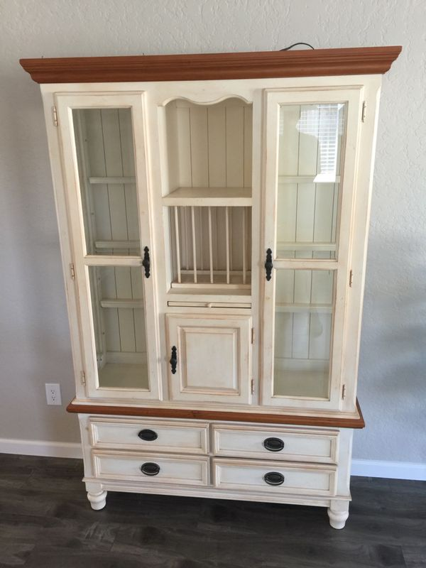 Dining Room Set Including China Hutch Table And 6 Chairs