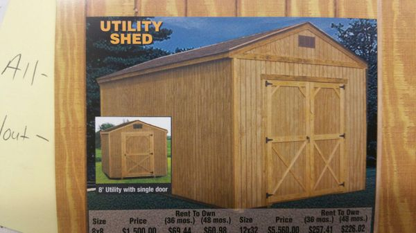 Storage Sheds General In Shively Ky Offerup