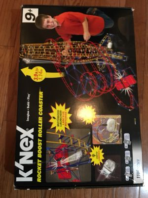 K'NEX Rocket Boost Roller Coaster - NEW