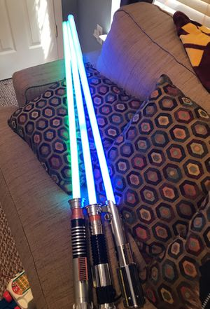 Star Wars lightsabers FX