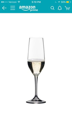 Brand new 4 Riedel Champagne Flutes