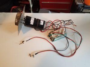 Fasco draft inducer & Johnson controls intermittent pilot ignition control