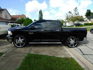 JUST RIMS AND TIRES