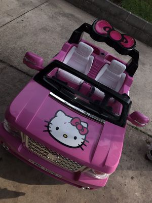 Hello kitty jeep