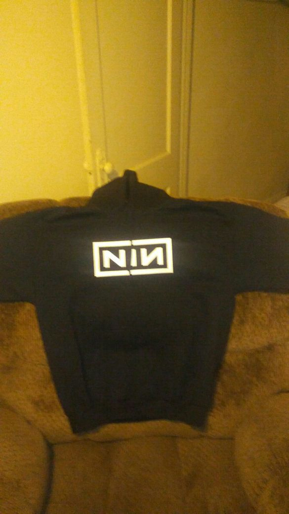 Large nine inch nails hoodie (Clothing & Shoes) in Cleveland, OH