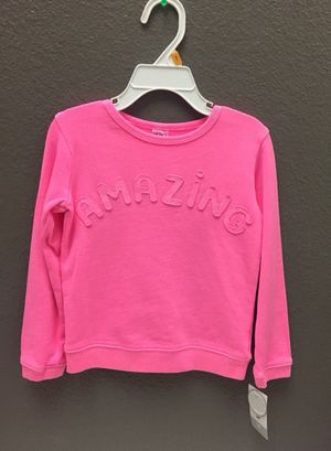 Toddler Girls 3T Carter's pull over sweater -New