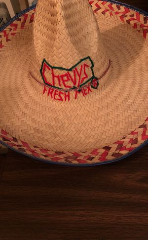 Giant Mexican Sombrero Distributed by Chevy's,...Great for Cinco de Mayo!