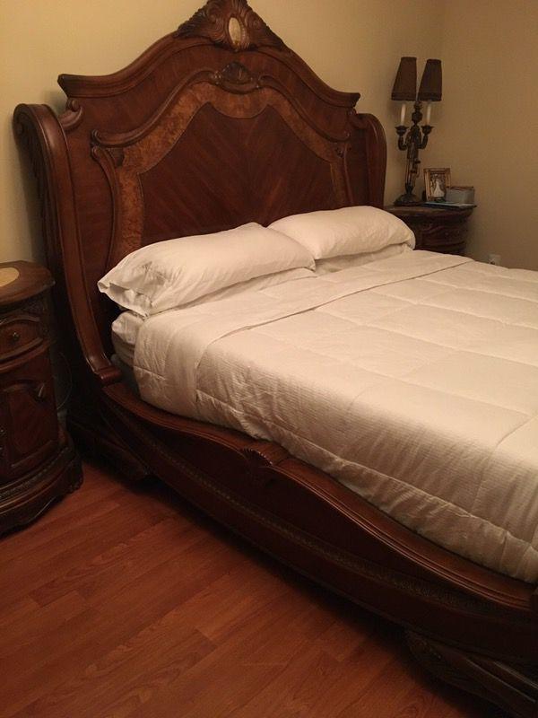 AICO - Michael Amini Cortina King bedroom set (Furniture) in Miami ...