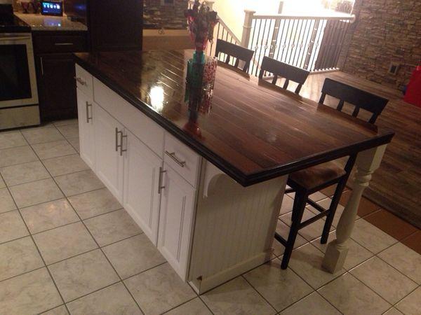 custom built kitchen island furniture in gig harbor