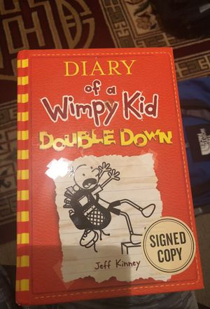 Diary of a Wimpy Kid signed by Jeff Kinney