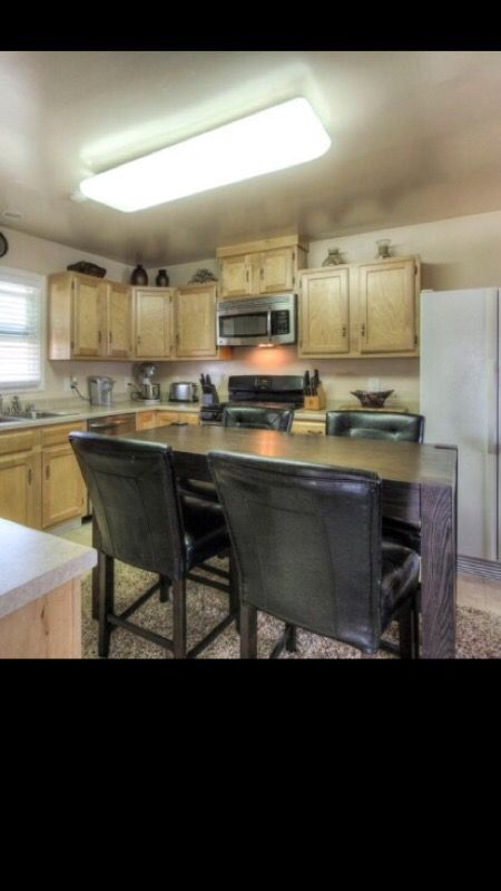 Ashley Counter Height Table With 4 Parson Chairs Furniture In Henderson Nv Offerup
