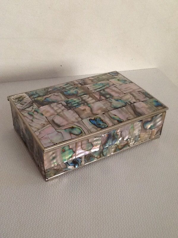 Abalone jewelry box Jewelry Accessories in Speedway IN OfferUp