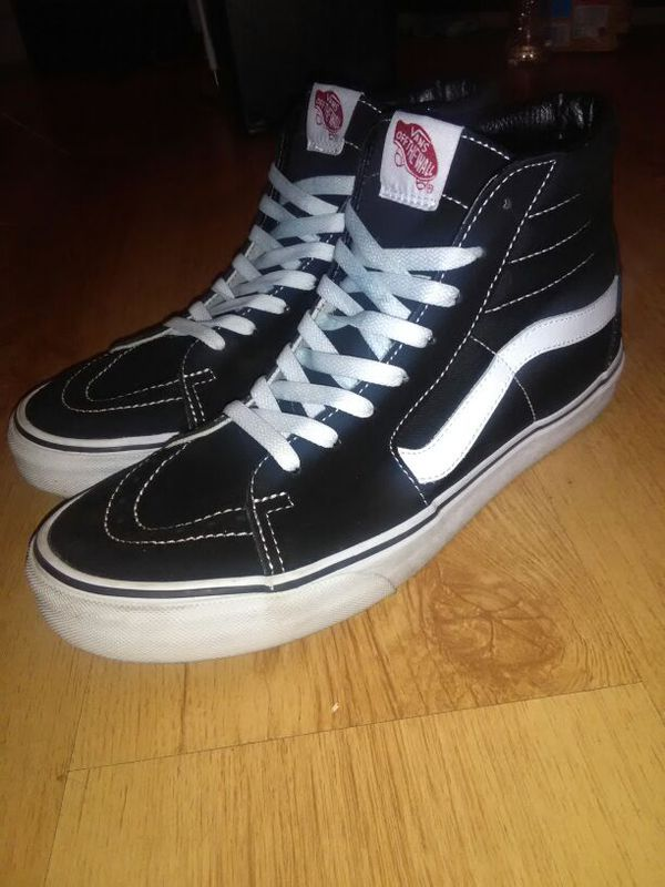 Vans sk8 hi size 11 worn a couple ti itmes ( Clothing & Shoes ) in ...