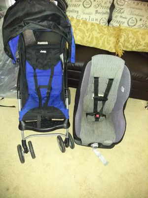 Evenflow careseat and stroller
