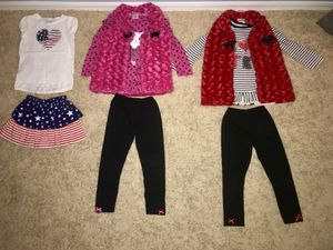 Girl clothes size 6T