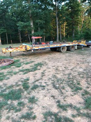 Eager beaver heavy machine trailer no title