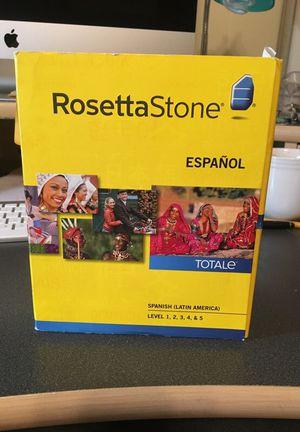 Rosetta Stone Spanish (Latin America) - Level 1-5 Set