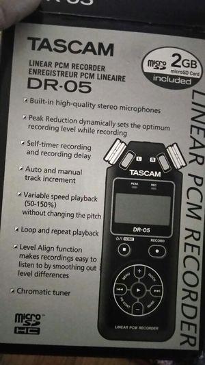 Tascam DR-05 2GB