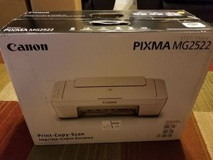 Canon pixma mg 2522 with ink new in box