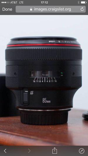 Canon EF 85mm f1.2 USM II ***Like New***