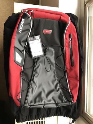 Ducati Tumi Motorcycle Helmet Backpack for $150 or Best Offer